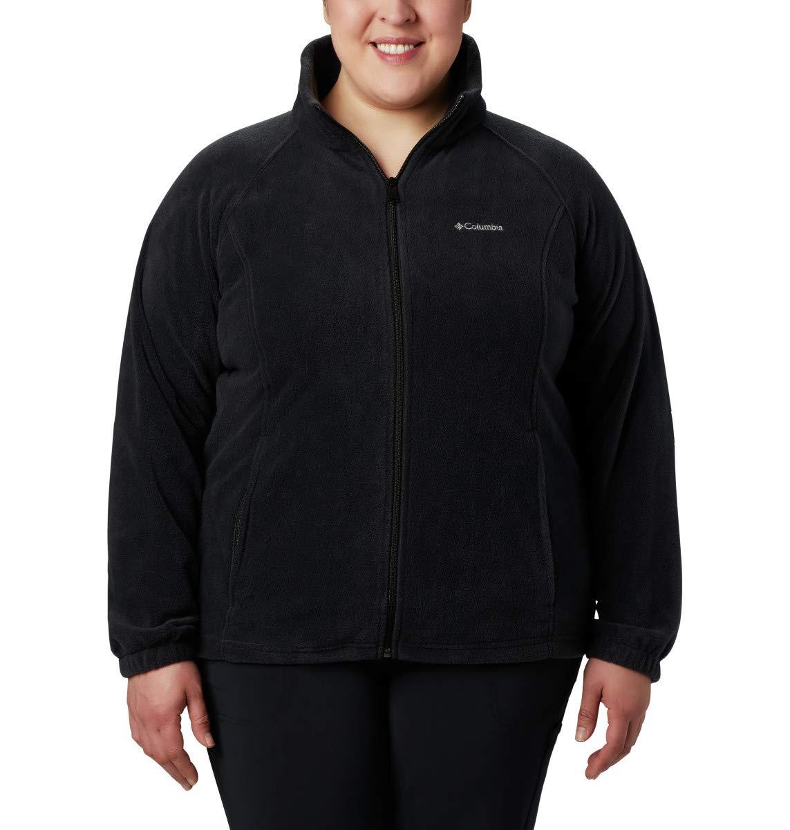 コロンビアの女性のBENTONがフルジップフリースジャケットスプリング