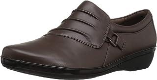 Clarks 女士 Everlay Heidi 一脚蹬乐福鞋