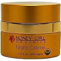 Honey Girl Organics - 有机晚上面部奶油 - 1.75 fl. 盎司