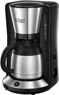 Russell Hobbs 24010-56 Adventure 咖啡机  Edelstahl/Schwarz 8 Tassen 24020-56