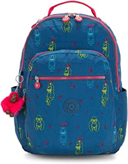 Kipling 凯浦林 Seoul 书包,44 厘米 Multicolour (Rocking Monkey) Multicolour (Rocking Monkey)