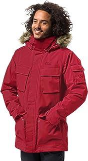 Jack Wolfskin 男士Glacier Canyon 大衣 冬季大衣 防水防风透气