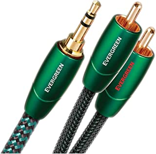 audioquest EVERGREEN 立体声连接电缆与3.5 mm JACK and 2 outputs RCA ( j2p ) 1.5 M