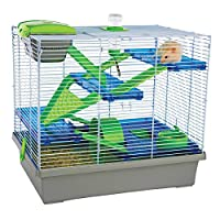 Hamster & Small Animal Home/age Silver/GREEN 均码