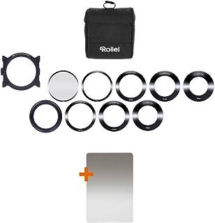 Rollei 禄莱 矩形滤镜 Mark II 套装26280  Starter Kit 黑色