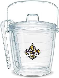 Tervis 1053410 Lsu Fleur De Lis Emblem Individually Boxed Ice Bucket, 87 oz, Clear