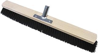 Broom 带混合毛刷和木质手柄 — 金属手柄 — 60 厘米 无手柄