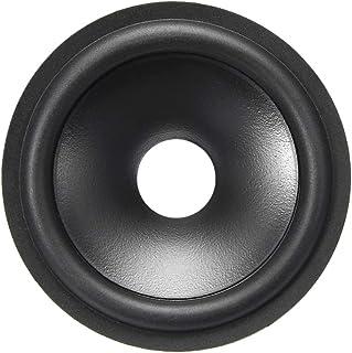 uxcell 2.5 英寸(约 6.4 厘米)纸箱 音箱 低音炮 锥子 鼓纸 内径 0.5 英寸(约 1.3 厘米)带橡胶环绕