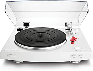 Audio Technica 铁三角 AT-LP3WH全自动皮带传动立体声转盘,白色