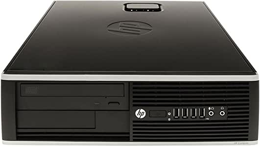HP 惠普 Compaq Elite 8100 SFF 办公PC-系统, Intel Core i5, 4GB RAM, 320GB HDD, DVD-ROM, Windows 10Home (Zertifiziert und Generalüberholt)
