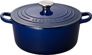 Le Creuset 酷彩 搪瓷锅 电磁炉可用 24厘米 靛蓝色 21001-24-48