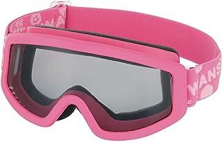 SWANS 兒童用 護目鏡 滑雪單板滑雪 3歲~10歲 101S ピンク×ピンク/グレイレンズ F