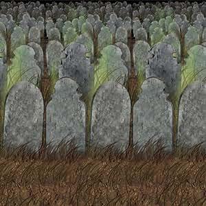 Graveyard 背景物主题装饰 不适用 4' x 30' 900