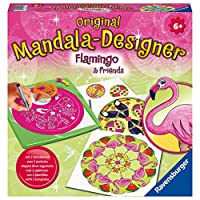 Ravensburger 曼陀拉-Midi-Flamingo 创意套装,4005556285181