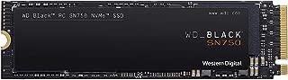 Western Digital 西部数据 SN750 1TB NVMe 内部游戏硬盘,黑色,SSD-Gen3 PCIe,M.2 2280,3D NAND-WDS100T3X0C