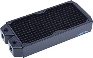 Alphacool NexXxos XT45 全铜散热器240,120mm x 2,双风扇