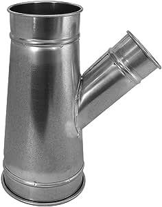 Nordfab 管道设备 3220-1606-106000 QF 分支 30 度 16-6-6,40.64cm 直径,镀锌钢