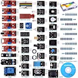 Kuman For Arduino Raspberry pi 传感器套件,37 合 1 Robot Projects 起动器套件,带教程 Arduino Uno RPi 3 2 型号 B B+ K5 For Arduino Raspberry pi Sensor kit