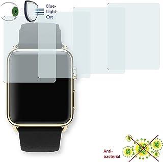 DISAGU 4x ClearScreen 覆盖屏幕保护膜 Apple Watch 42 毫米 - *版蓝光切割过滤器(由于弯曲形状不同,实际比显示屏小)
