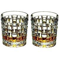 Nachtmann 奈赫曼 波萨诺瓦族系列395ml威士忌杯/水杯通用杯0092076-0 水晶玻璃水杯 果汁杯 2只价 安全包装(亚马逊自营商品, 由供应商配送)