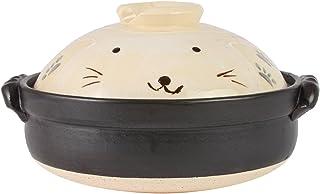 丸子陶器 手绘兔子 8号土锅 M0526