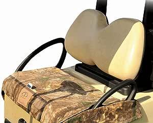 Cart Logic 印花羊毛高尔夫球车座椅毯带防水背衬,53 x 27 英寸,Realtree Xtra 迷彩