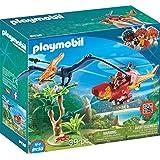 Playmobil 9430 – 带翼龙的直升机玩具