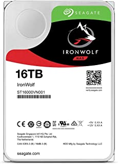 Seagate IronWolf 3.5\ST16000VN001 高耐久・NAS向けHDD HDD : 16TB