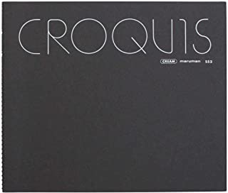 Maruman Croquis 212 毫米*242 毫米 SS - 黑色