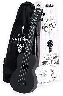 Kala Learn To Play 彩绳尤克里里琴入门套装 – 包含一个带彩色琴弦的女高音尤克里里琴,标志便携包,在线课程,调谐器应用程序和手册(CALA-LTP-SCC)