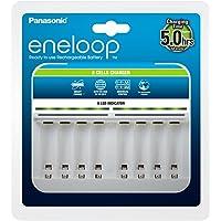 Panasonic eneloop, 智能优质 - 充电器适用于1 – 8镍氢电池 AA/AAA