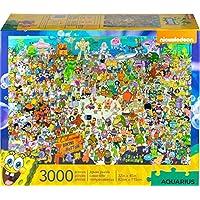 AQUARIUS SquarePants 海绵宝宝拼图,3000块,68508