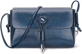JeHouze 女式皮革邮差小斜挎包手提包单肩钱包