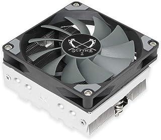 Scythe Shuriken 2 CPU 空气冷却器,92毫米低调(58毫米高),Intel LGA1151,AMD AM4/Ryzen