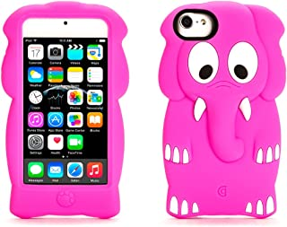 Griffin 粉色大象 KaZoo 保护儿童保护套适用于 iPod touch(*五代和*六代) - iPod touch 的趣味动物朋友(*五代)
