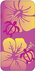 智能手机壳 透明 印刷 对应全部机型 cw-1306top 套 花朵图案 扶桑花 UV印刷 壳WN-PR408892 AQUOS Xx2 502SH B款