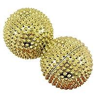 磁铁按摩球 | 2件套 | 直径约 45 毫米 | 不同颜色 金色 Durchmesser 55 mm