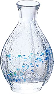 ADERIA 清酒瓶 徳利 庄内 工艺 大 150ml 水晶玻璃拼花 日本制造 F-70081