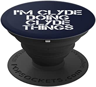 I'M CLYDE DOING CLYDE THINGS Art 趣味圣诞节礼物创意260027  黑色