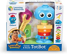 Learning Resources 智慧机器人 Count and Build Totbot