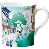 Narumi 鸣海 旅行马克杯 (旅游中国) 280cc 41678-6257