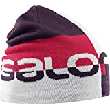 Salomon 萨洛蒙 GRAPHIC BEANIE White/Maverick/Barbados C 中性 帽子 L39509900OSFA 白色 OSFA
