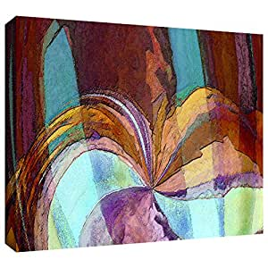 ArtWall Dean Uhlinger 'Yata' Gallery-Wrapped Canvas Wall Art, 14 by 18-Inch