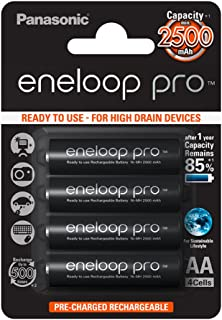 Panasonic eneloop pro 随时可用的 Mignon NI-MH 电池 4 个装
