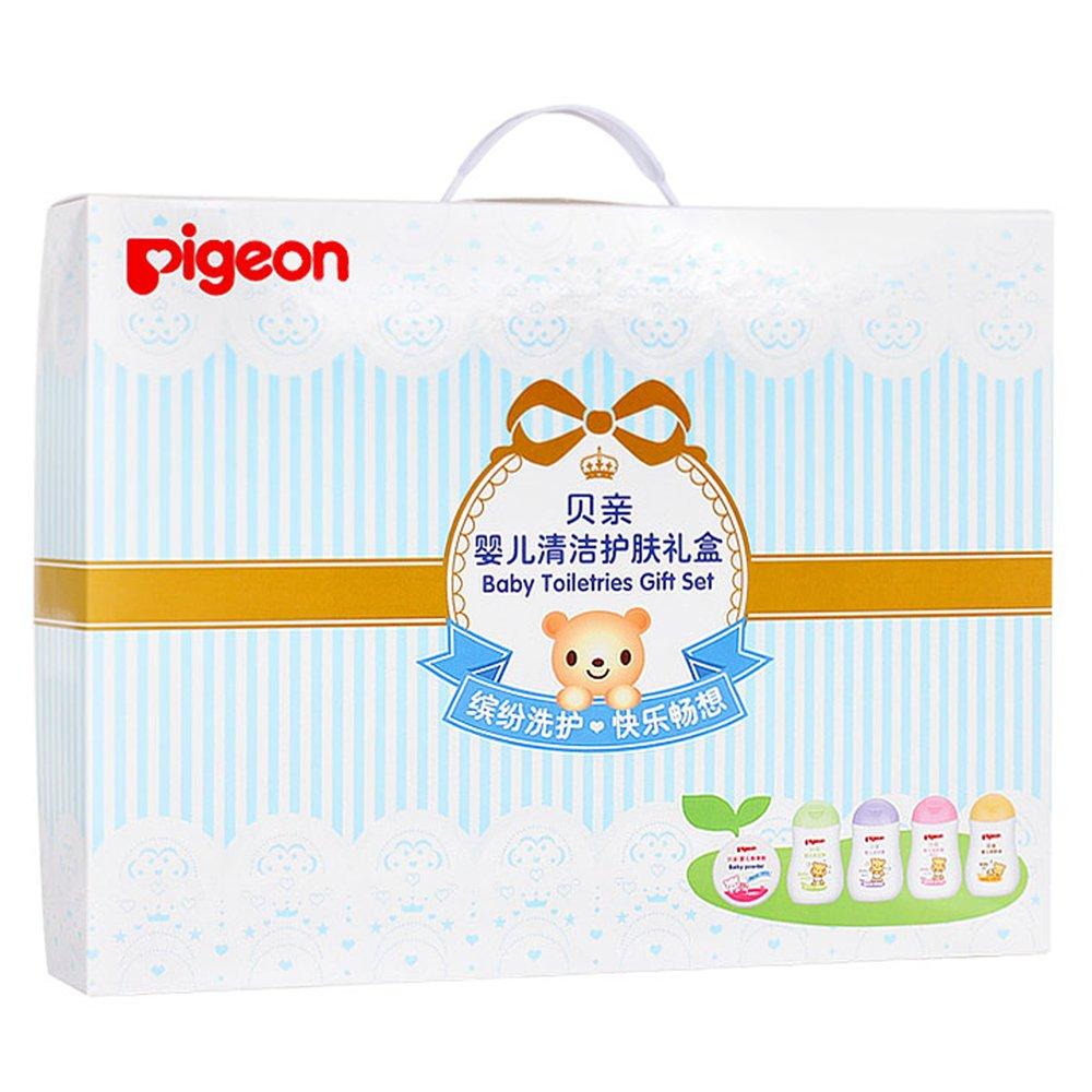 PIGEON 贝亲 婴儿清洁护肤礼盒 五件套