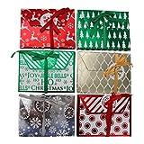 圣诞铝箔礼物夹带 envelopes- 什锦假期 Designs