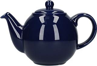 Dexam London Pottery 2 杯球茶壶钴蓝色