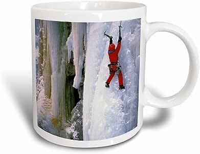 3drose danita delimont–爬山–美国,科罗拉多, ouray . 冰攀岩 . ( MR )–us06lkl0002–LEE klopfer–马克杯 黑色/白色 11 oz