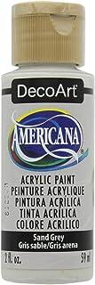 DecoArt 美国亚克力颜料,2盎司,桑蚕 砂灰色 12010361