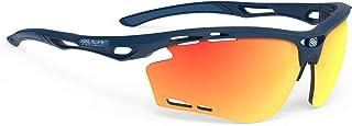 RUDYPROJEC Pro 脈沖藍色藏青色啞光框架 多激光橙色鏡片 跑步*太陽鏡 24047-00